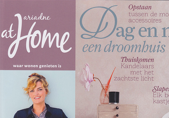 Foto publicatie in Ariadne at Home